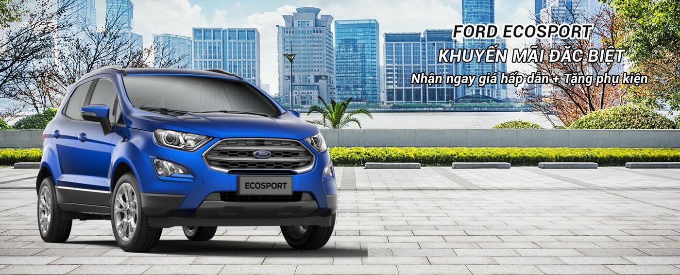 Phong cách SUV đầy ấn tượng của Ecosport 1.0L AT Titanium