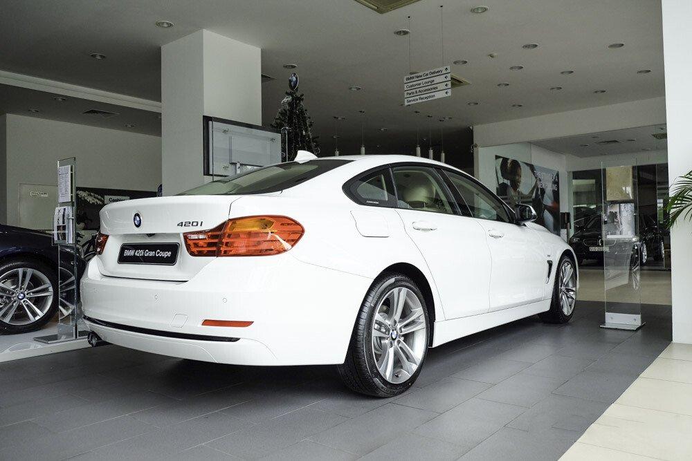 BMW 420i Gran Coupé - Hình 5