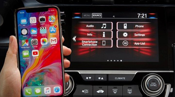 Honda Civic 1.8L G 2021 - Hình 17