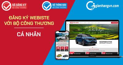 Hướng dẫn đăng kí website bán hàng với Bộ Công Thương đối với quyền sở hữu của cá nhân