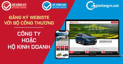 Hướng dẫn đăng kí website bán hàng với Bộ Công Thương đối với quyền sở hữu của Công ty, Hộ kinh doanh