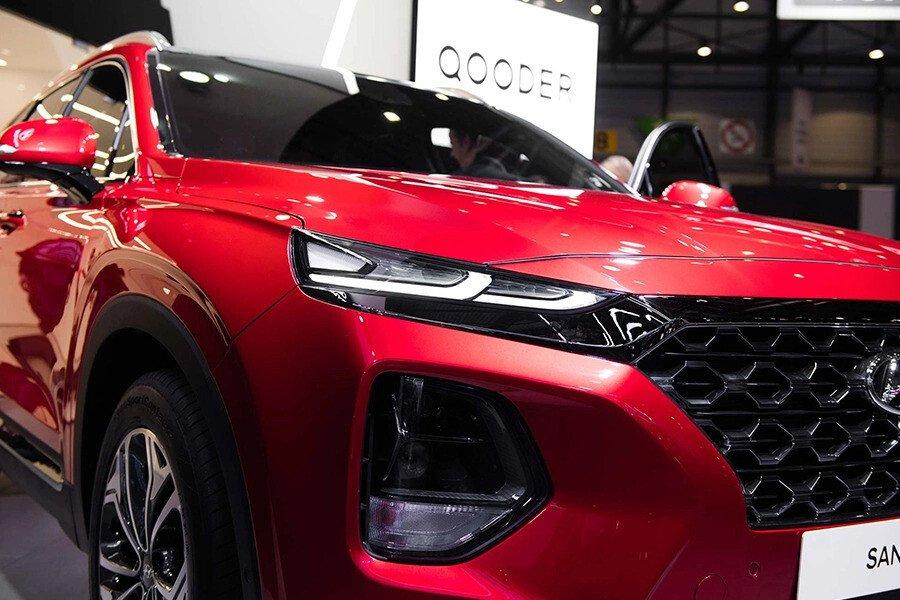 Hyundai Santa Fe 2.2 Dầu Cao Cấp - Hình 4