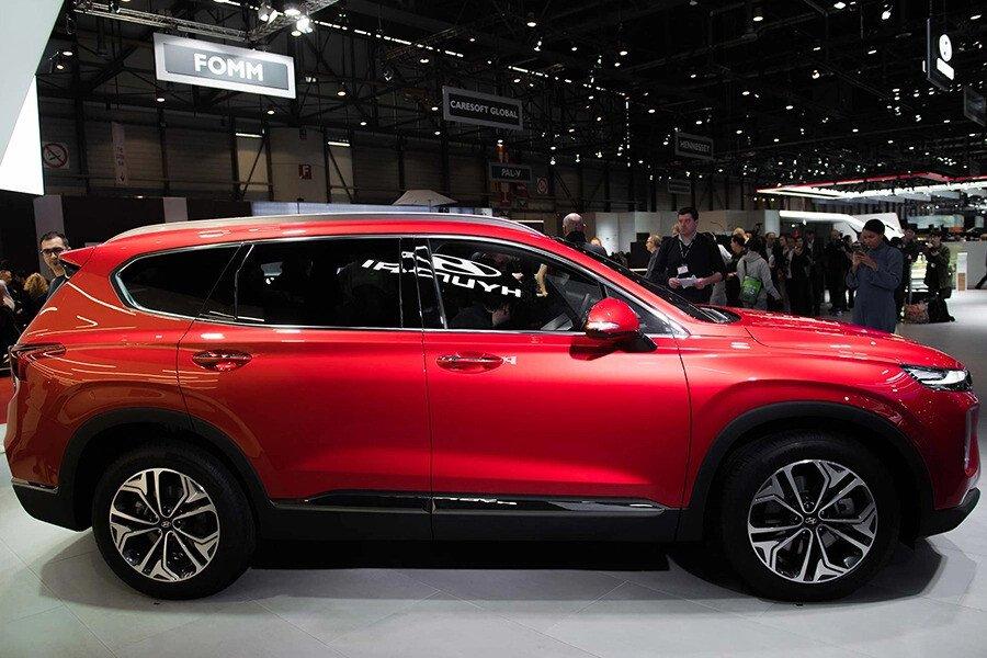 Hyundai Santa Fe 2.2 Dầu Cao Cấp - Hình 5