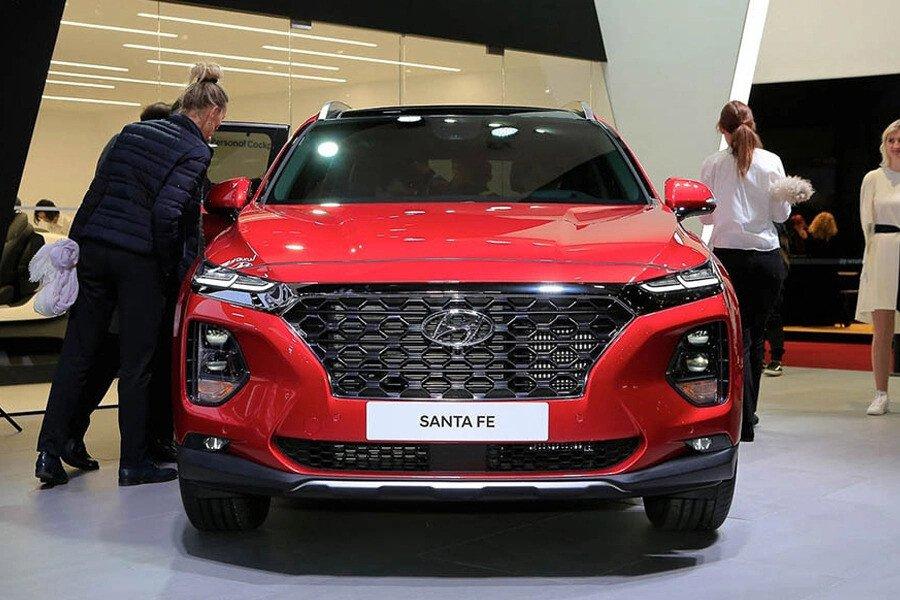 Hyundai Santa Fe 2.4 Xăng Cao Cấp - Hình 1