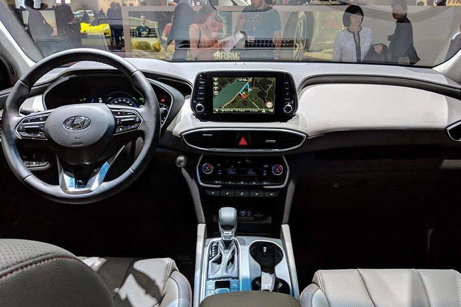 Hyundai Santa Fe 2.4 Xăng Cao Cấp - Hình 11