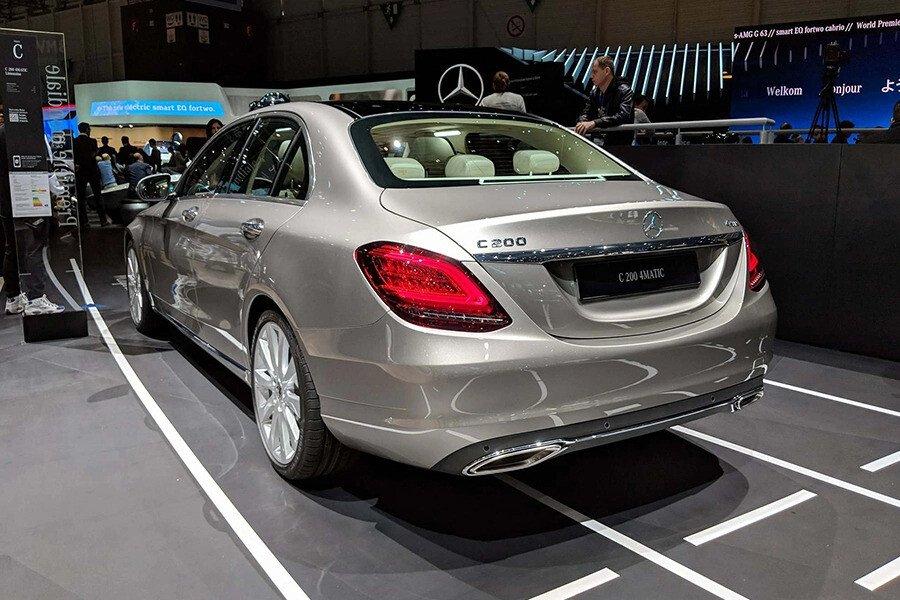 Mercedes-Benz C200 Exclusive 2019 - Hình 8