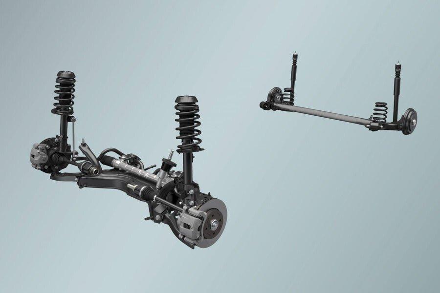 Hệ thống treo của Suzuki Ciaz Mới