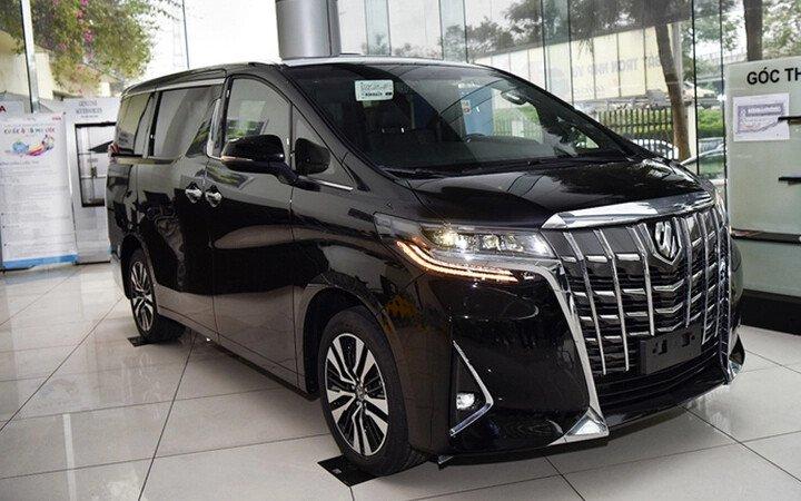 Toyota Alphard Luxury 2020 - Hình 5