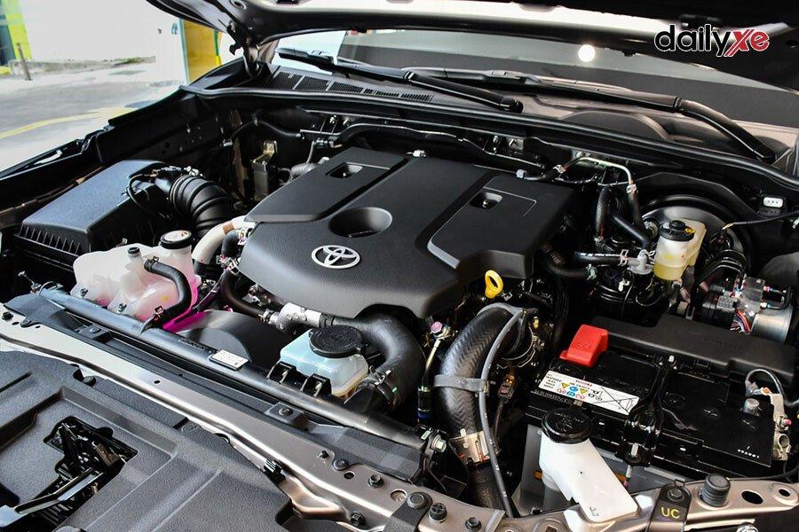 Toyota Fortuner Legender 2.4AT 4x2 - Hình 18