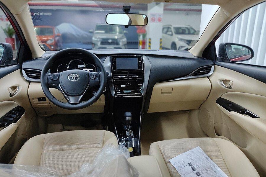 Toyota Vios 1.5E CVT (3 túi khí) - Hình 15